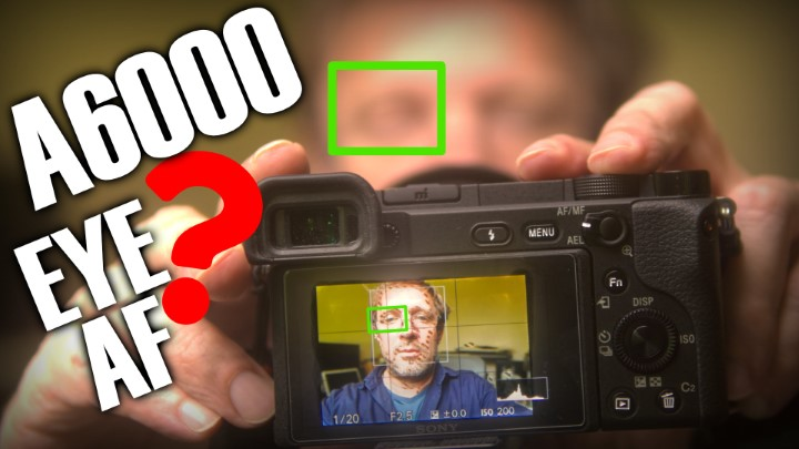 Le Eye AF sur le Sony A6000, c'est possible ! -