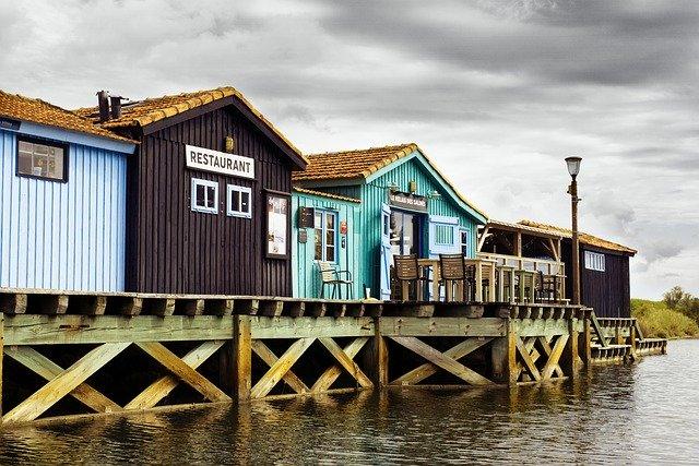 Prise de vue A6000, cabanes de pêcheurs
