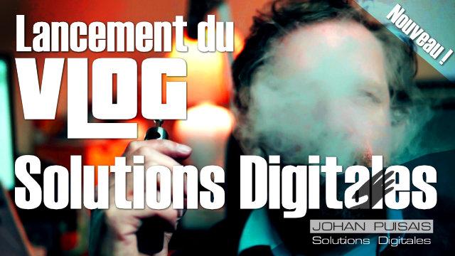 "Lancement de ma chaine Youtube ""Solutions digitales"" -"