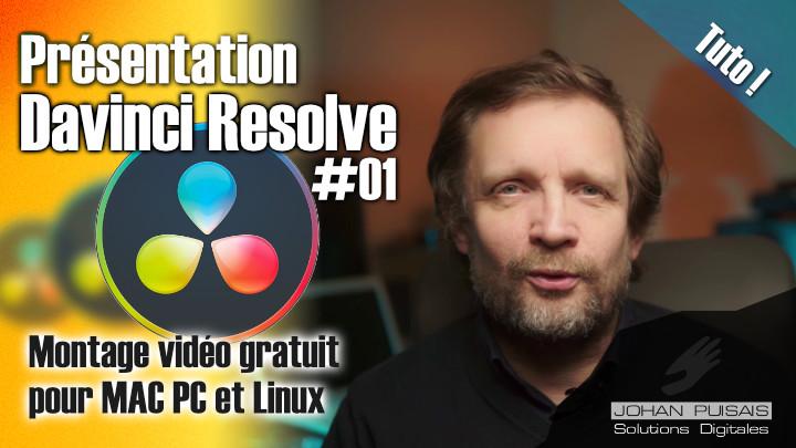 Tutoriel Davinci Resolve #01 : présentation et configuration -