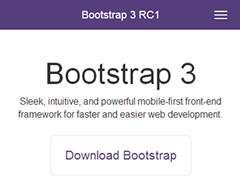 Bootstrap 3 est sorti -