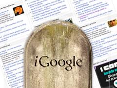 iGoogle : c'est fini -