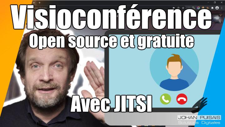 Visioconférence facile avec Jitsi : Open source et gratuite -