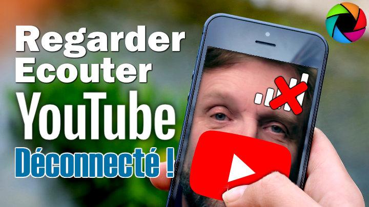 Comment voir ou écouter des vidéos YouTube sans connexion ? -